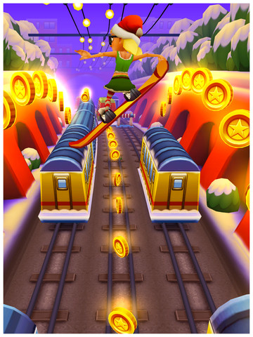 Subway Surfers ARMV6 Christimas Edition